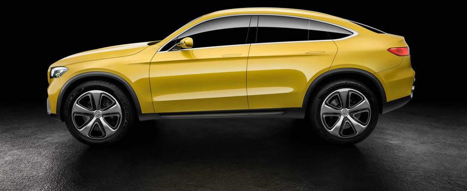 Noul Mercedes Concept GLC Coupe anticipeaza un rival pentru BMW X4