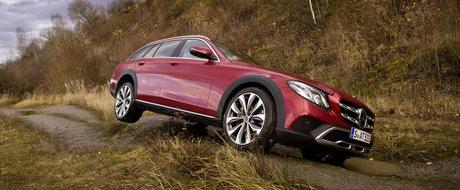 Noul Mercedes E-Class All-Terrain pus la treaba in cea mai recenta campanie de promovare a nemtilor