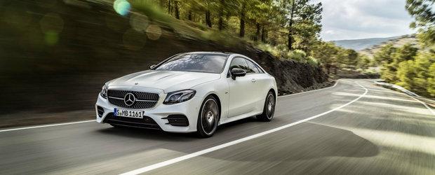Noul Mercedes E-Class Coupe debuteaza in prima galerie foto oficiala