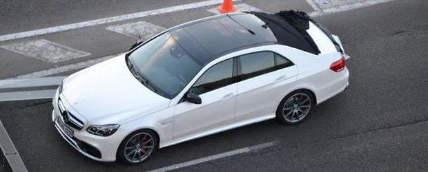 Noul Mercedes E-Class Facelift, surprins complet nedeghizat