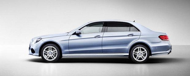Noul Mercedes E-Class Long, primele imagini si detalii oficiale