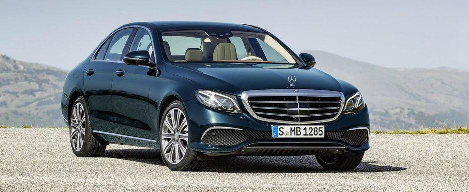 Noul Mercedes E-Class promite cinci motorizari proaspete din iunie