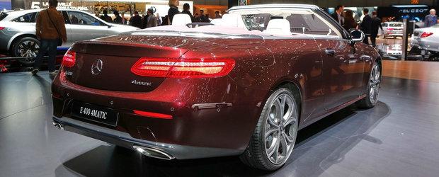 Noul Mercedes E-Class renunta la plafon si este mai frumos ca oricand