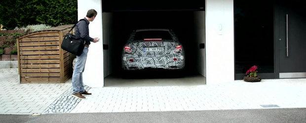 Noul Mercedes E-Class se va putea parca si prin intermediul telefonului mobil