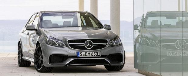 Noul Mercedes E63 AMG: Pana la 585 cai putere, 0 - 100 km/h in 3.6 secunde
