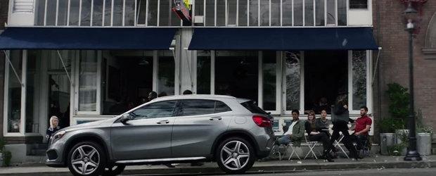 Noul Mercedes GLA depaseste toate asteptarile in ultimul sau promo oficial