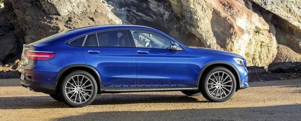 Noul Mercedes GLC Coupe debuteaza oficial si promite sa starneasca numeroase controverse