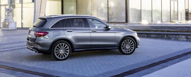 Noul Mercedes GLC este, in esenta, un C-Class pe steroizi