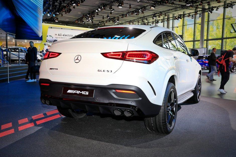Noul Mercedes GLE Coupe - Poze de la Frankfurt