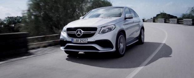 Noul Mercedes GLE63 AMG Coupe ni se arata inaintea debutului oficial
