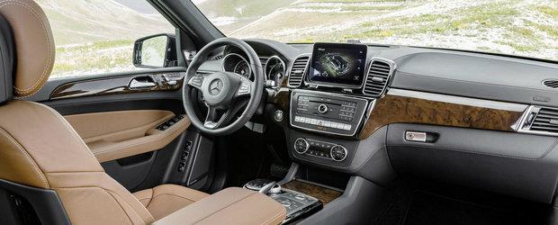 """Noul Mercedes GLS debuteaza oficial, se autoproclama """"S-Class-ul SUV-urilor"""""""