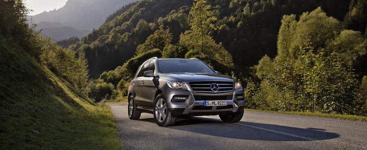 Noul Mercedes ML500 4MATIC - Mai multa putere, mai multa eficienta