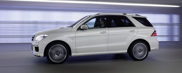 Noul Mercedes ML63 AMG costa 82.995 lire sterline