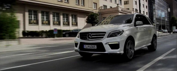 Noul Mercedes ML63 AMG - Primul video oficial