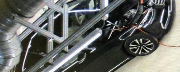 Noul Mercedes S-Class a fost surprins complet necamuflat si arata... exact asa. POZE REALE