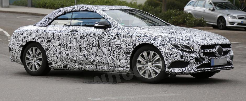 Noul Mercedes S-Class Cabriolet iese pe strada, in primele teste