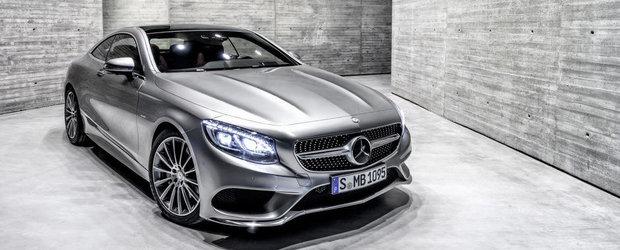 Noul Mercedes S-Class Coupe. GALERIE FOTO si VIDEO