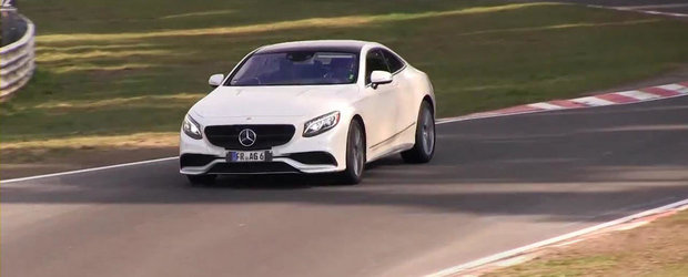 Noul Mercedes S-Class Coupe isi continua testele la Nurburgring
