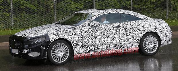 Noul Mercedes S-Class Coupe, primele imagini spion