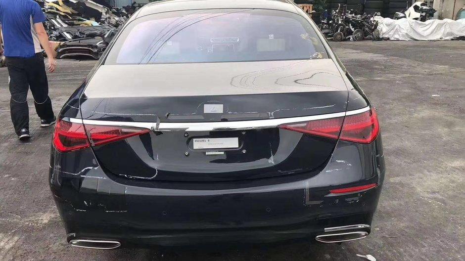 Noul Mercedes S-Class necamuflat