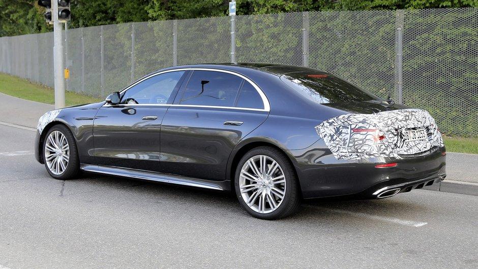 Noul Mercedes S-Class - Poze spion