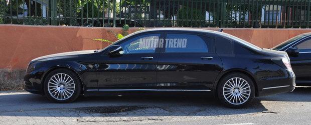 Noul Mercedes S-Class XL: Cum arata inlocuitorul modelelor Maybach