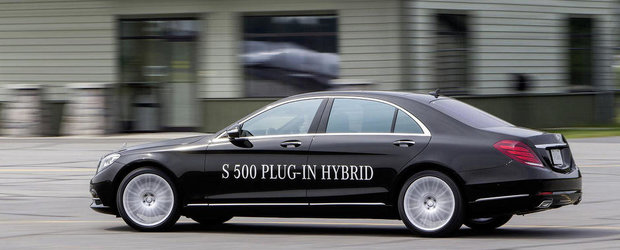 Noul Mercedes S500 hibrid consuma numai 3.0 litri/100 km