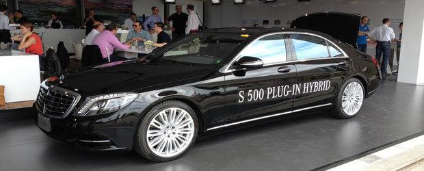 Noul Mercedes S500 Plug-in Hybrid debuteaza oficial la Frankfurt