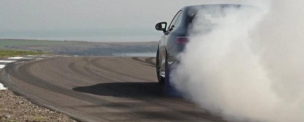 Noul Mercedes S65 AMG Coupe se pricepe de minune la... distrus anvelope