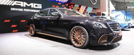 Noul Mercedes S65 AMG Final Edition este ultimul S-Class cu motor V12 biturbo. POZE REALE