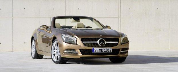Noul Mercedes SL costa 72.495 lire sterline