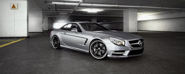 Noul Mercedes SL si Wheelsandmore - Tuning la prima vedere