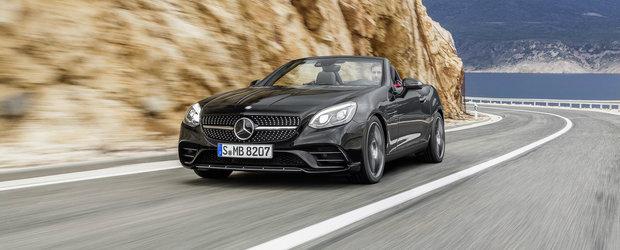 Noul Mercedes SLC debuteaza oficial cu pana la 367 CP sub capota