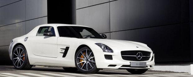 Noul Mercedes SLS AMG GT strabate 'Ring-ul in mai putin de 7 min si 30 de sec