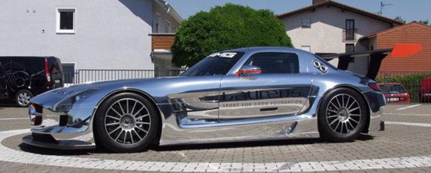 Noul Mercedes SLS AMG GT3 este gata sa-si eclipseze adversarii!