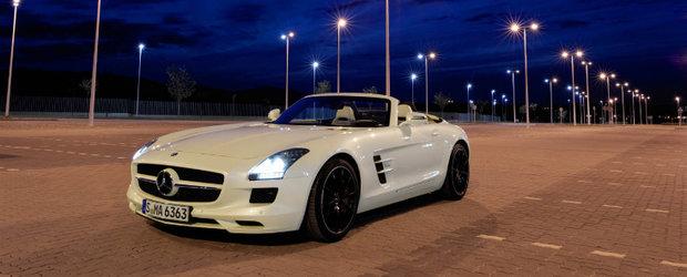 Noul Mercedes SLS AMG Roadster renunta la aripi, dar inca poate zbura