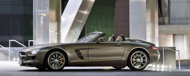 Noul Mercedes SLS AMG Roadster revine in lumina reflectoarelor - Galerie Foto
