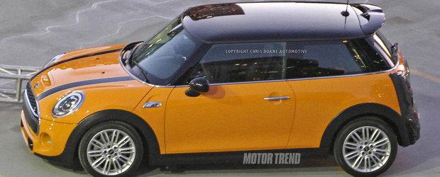 Noul Mini Cooper va fi lansat pe 18 noiembrie