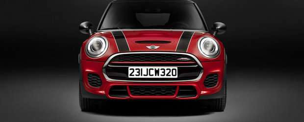 Noul MINI John Cooper Works are 231 CP, promite suta in 6.1 secunde