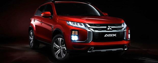 Noul MITSUBISHI ASX: design nou, tehnologii moderne si o singura motorizare pe benzina in EUROPA