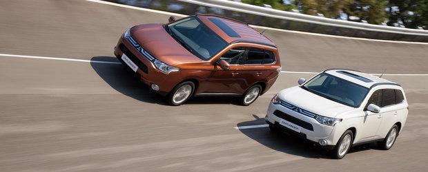 Noul Mitsubishi Outlander, lansat oficial in Romania