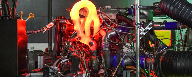 Noul motor de la AUDI este nebunie curata dar nu poti sa-l ai. Are patru cilindri si...610 CP