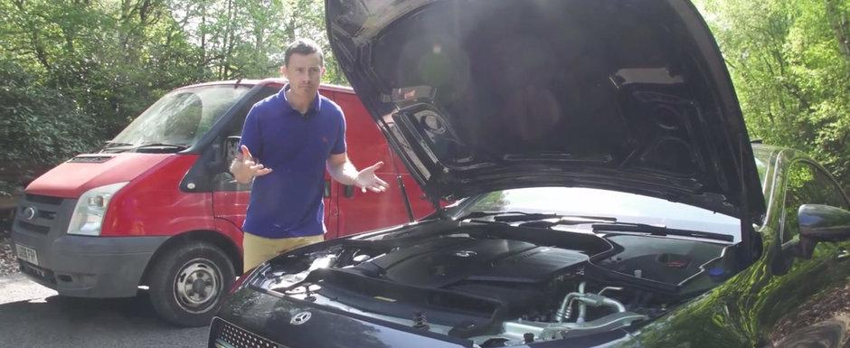 Noul motor diesel face masina germana de lux sa sune ca o duba de marfa. VIDEO ca sa te convingi si singur