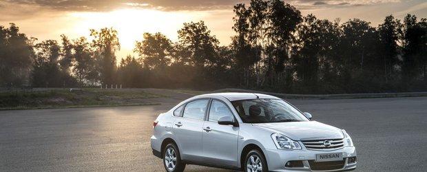 Noul Nissan Almera se prezinta in detaliu