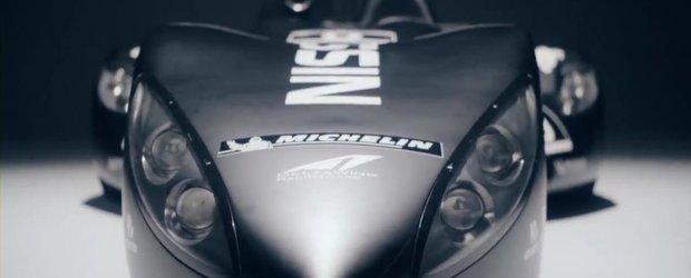 Noul Nissan DeltaWing e gata de Le Mans!