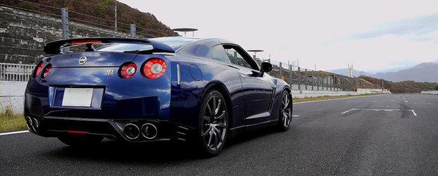 Noul Nissan GT-R: 0 - 100 km/h in doar 2.84 secunde!