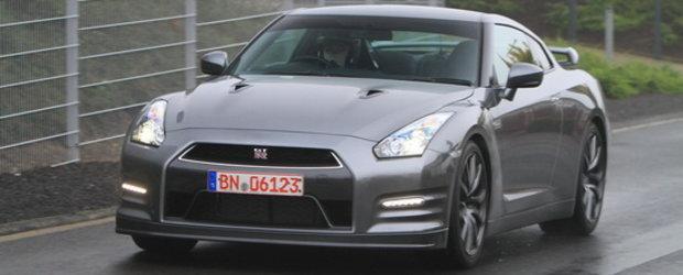 Noul Nissan GT-R isi face aparitia in primele poze reale!