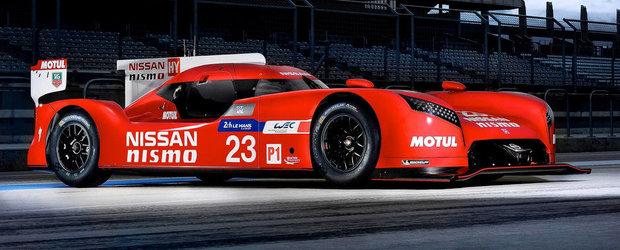 Noul Nissan GT-R LM pare venit de pe alta planeta, are 1.250 CP si... FWD