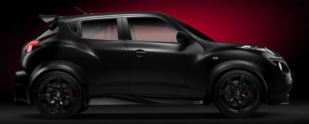 Noul Nissan Juke-R accelereaza de la 0 la 100 km/h in 3.7 sec, depaseste pragul celor 250 km/h!