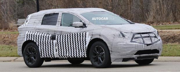 Noul Nissan Murano, surprins in primele poze spion